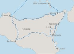 Karte Sizilien 01